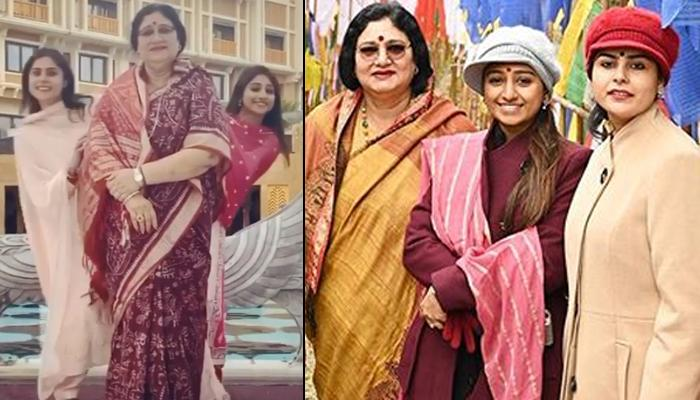 Mohena Kumari Singh's Cheerful Boomerang With Her Mother-In-Law Is All About Their 'Saas Bahu Saga'