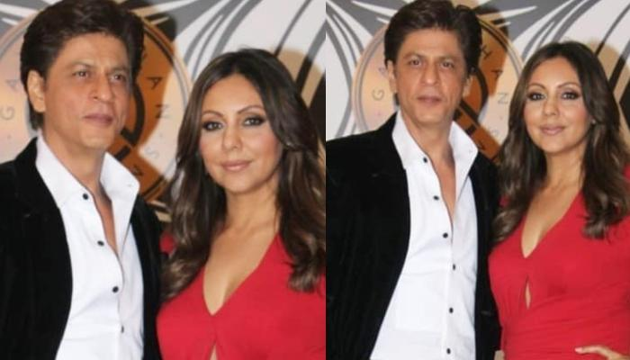 Shah Rukh Khan And Gauri Khan Steal The Limelight At Their Party, Radiate Couple Goals