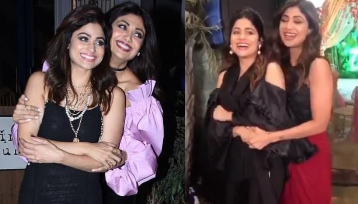 Shilpa Shetty Kundra Dances With Sister, Shamita Shetty On 'Pehla Nasha' On Her Birthday [Video]