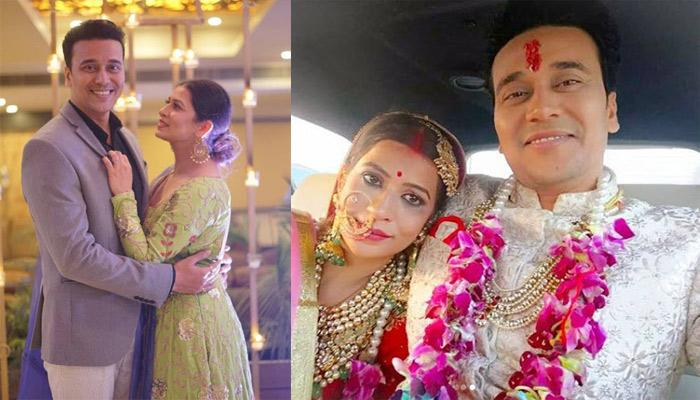 Anurag Sharma's Newly Wedded Wife, Nandini Gupta Falls After The Couple Dance On Their Wedding Day