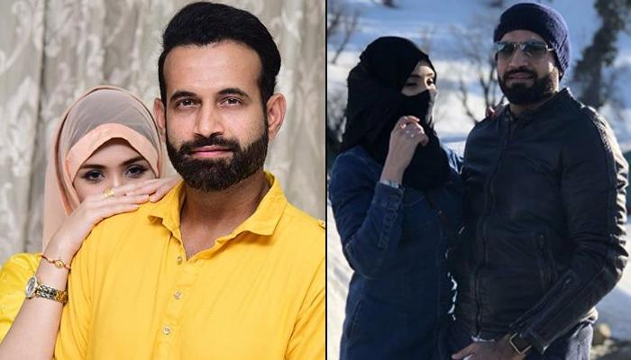 Irfan Pathan Wishes His Wife, Safa Baig With A Beautiful Wedding Picture On Their Fourth Anniversary
