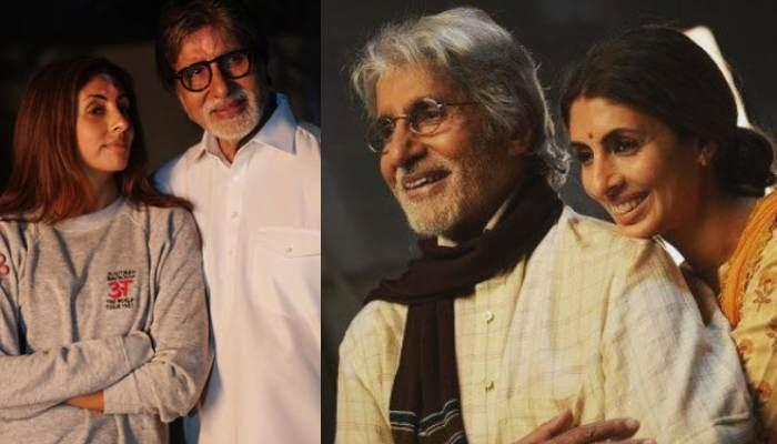 Shweta Bachchan Nanda's Candid Picture With Her Father, Amitabh Bachchan Is Every Daughter Ever