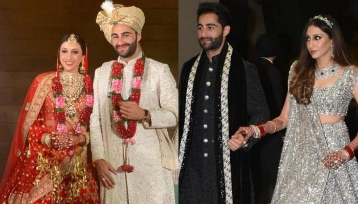 Armaan Jain's Wife, Anissa Looks Like A Princess On Her Wedding Reception, Flaunts Her Red Chooda