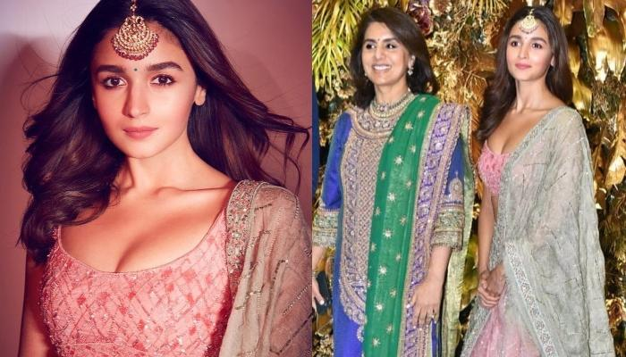 Alia Bhatt Shows Her Love For Future Mom-In-Law, Neetu Kapoor At Armaan And Anissa's Reception
