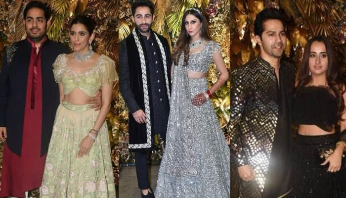 Akash-Shloka, Shah Rukh-Gauri, Malaika-Arjun And Many More Sizzle At Armaan Jain's Wedding Reception