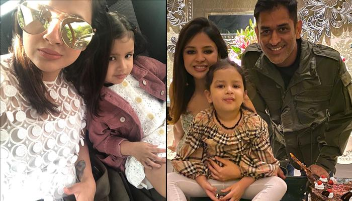 Sakshi Dhoni Wishes Her 'Little One', Ziva Dhoni On Her 5th Birthday With A Throwback Family Picture