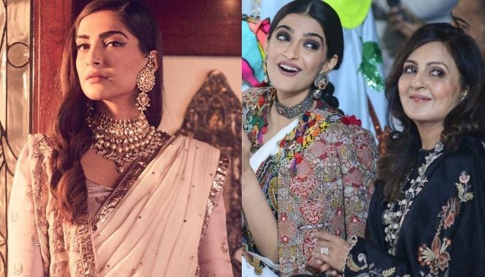 Sonam Kapoor Wears Her Mother-In-Law, Priya Ahuja's Neckpiece For Armaan And Anissa's Reception