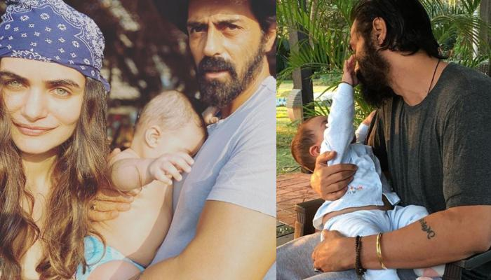 Arjun Rampal Jams With His Little Son Arik, Wife Gabriella Demetriades Captures The Adorable Moment