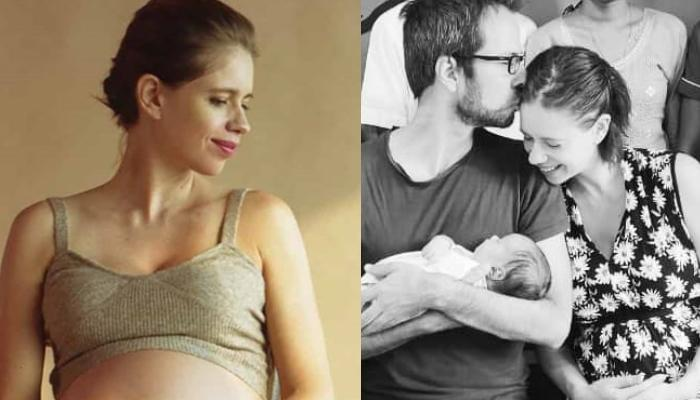 Image result for kalki koechlin baby