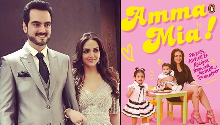 Bharat Takhtani Pens Proud Note For Esha Deol's Book 'Amma Mia', Here's How Takhtani Clan Wished Her