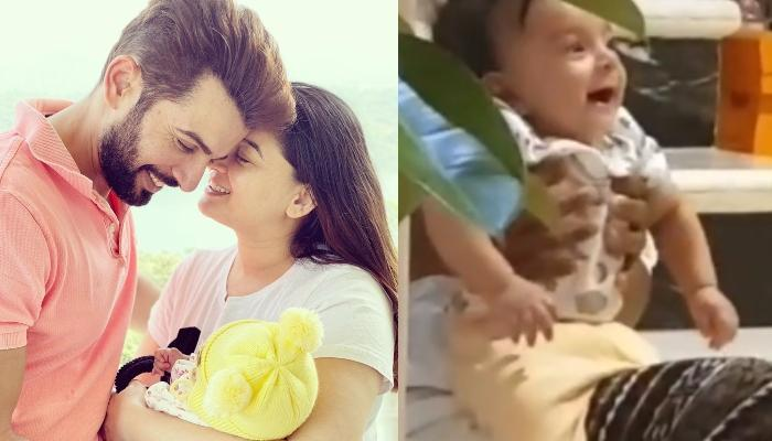 Jay Bhanushali Shares A Laughing Video Of His Baby Girl, Tara, Calls Wife, Mahhi The Best Mom