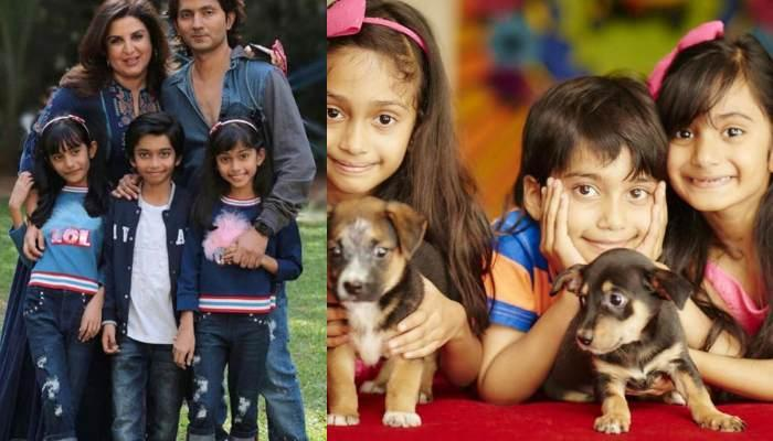 Farah Khan Shares A Throwback Picture To Wish Her Kids, Diva, Anya And Czar On Their 12th Birthday