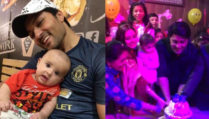 'Diya Aur Baati Hum' Actor, Anas Rashid Celebrates First Birthday Of His Baby Girl, Aayat In Style