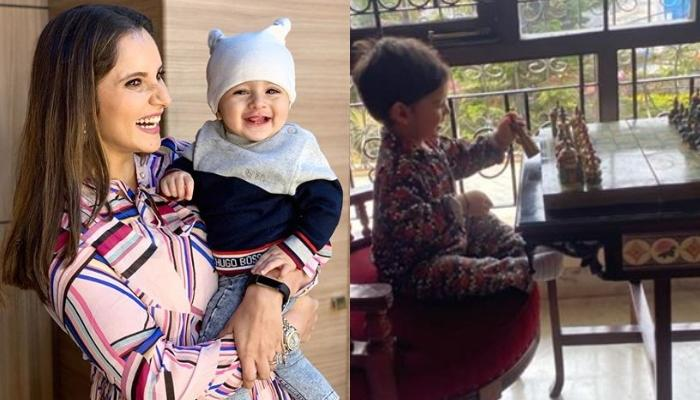 Sania Mirza's Baby Boy Izhaan Mirza Malik Is A 'Grand Master' As He Plays Chess Early In The Morning