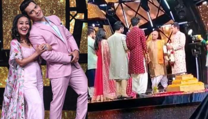 Neha Kakkar And Aditya Narayan Get Married On The Sets Of 'Indian Idol 11', Exchange 'Jaimalas'