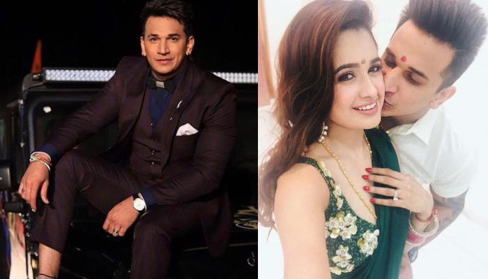 Yuvika Chaudhary Receives A Big Surprise From Hubby, Prince Narula On Their Engagement Anniversary