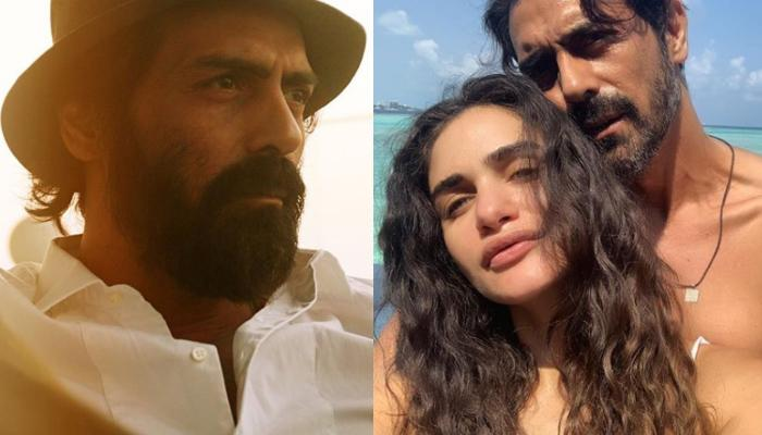 Arjun Rampal Shares A Cosy Picture With Ladylove, Gabriella Demetriades On Valentine's Day