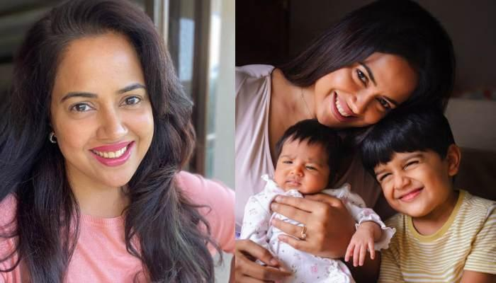 Sameera Reddy Puts On Her 'Mommy Swag' As She Grooves With Her Little Munchkins, Hans And Nyra