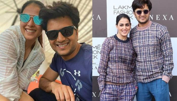 Ritesh Deshmukh And Genelia Deshmukh Twin As They Walk Together At Lakme Fashion Week 2020