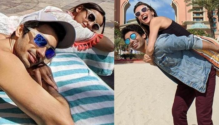 Mohit Sehgal Shares A Liplock Picture With Wife, Sanaya Irani From Their Dubai Vacation