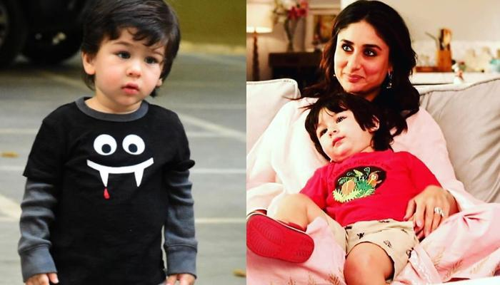 Taimur Ali Khan Twins With Mom, Kareena Kapoor Khan On Their Recent Visit To Karisma Kapoor's House