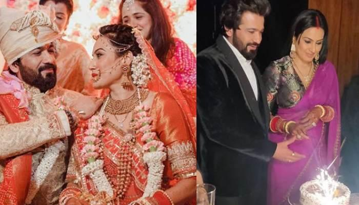 Kamya Panjabi Shares Unseen Pictures With Hubby, Shalabh Dang From Their Delhi Wedding Reception