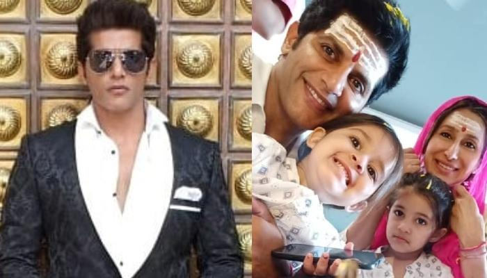 Karanvir Bohra Celebrates First 'Mahashivratri' With His Wife, Teejay And Kids, Bella And Vienna