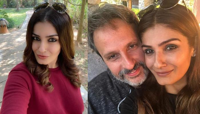 Raveena Tandon Wishes Hubby, Anil Thadani On 16th Wedding Anniversary With A Heart-Melting Collage