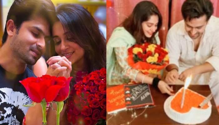 Dipika Kakar And Shoaib Ibrahim Get A Surprise On Their Second Anniversary, Cut A Heart-Shaped Cake