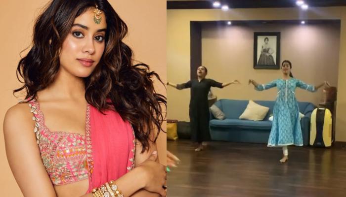 Janhvi Kapoor Dances On Iconic Song 'Piya Tose Naina Lage', Fans Says 'Just Like Her Mother Sridevi'