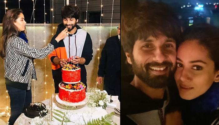Shahid Kapoor Celebrates His 39th Birthday With Mira Rajput Kapoor And Pankaj Kapur In Chandigarh