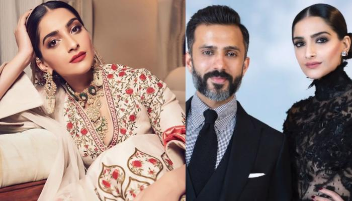 Sonam Kapoor Ahuja's Husband, Anand Ahuja Welcomes Her At The Airport In A Complete Bollywood Style