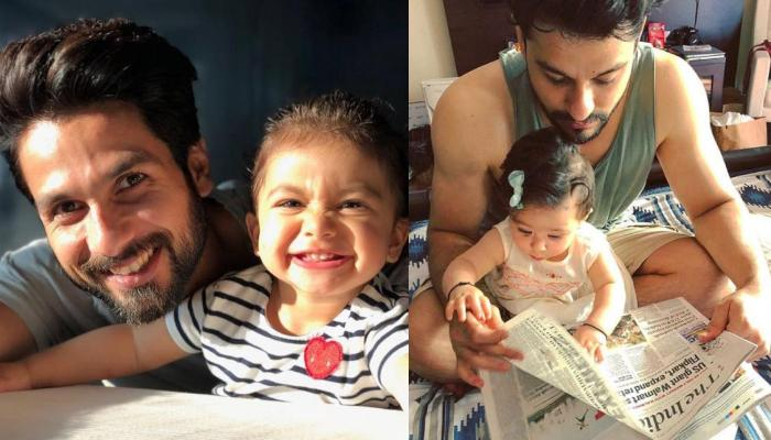 Shahid Kapoor And Misha Kapoor's Adorable Picture Reminds Us Of Inaaya And Kunal Kemmu's Picture