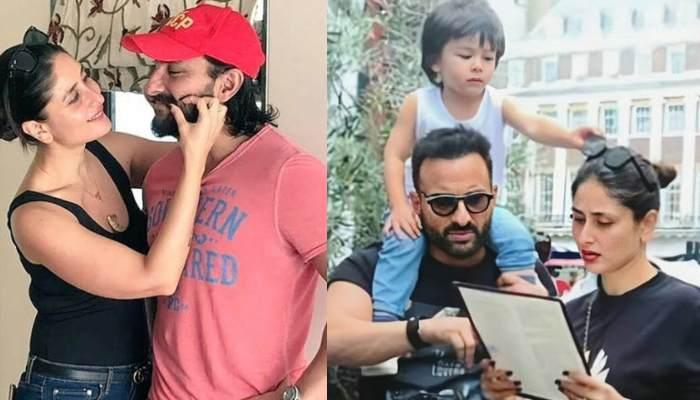Taimur Ali Khan Helping Parents, Saif And Kareena At Their Shoot With A Blower Is Beyond Cuteness