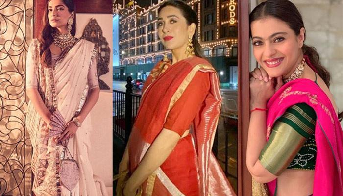 10 Bollywood Divas Who Have Nailed The Handloom Saree Trend
