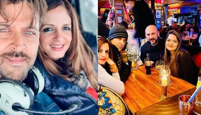 Sussanne Khan Leaves Heart Emoticons On Ex-Husband Hrithik Roshan's Fiery Selfie