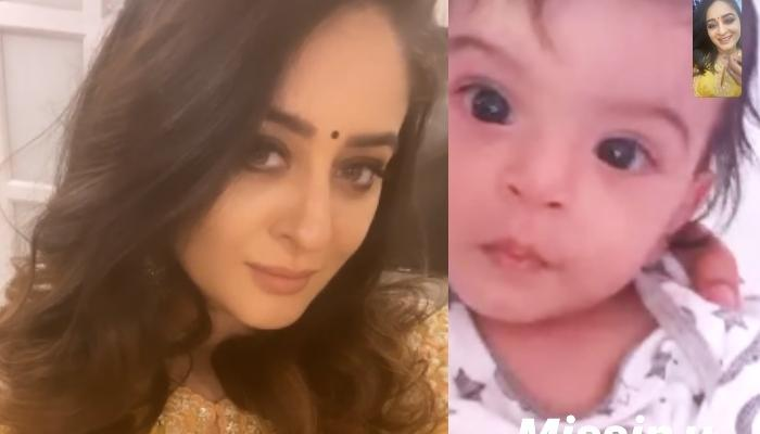 Mahhi Vij Video Calls Her Daughter, Tara Jay Bhanushali As She Gets Back To Work