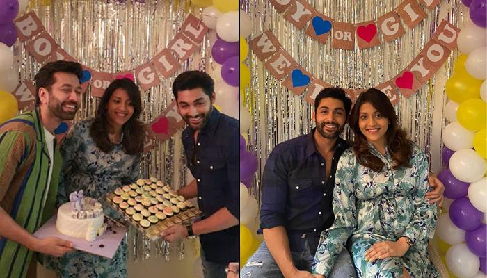 Ruslaan Mumtaz And His Wife Nirali Mehta Celebrate Her Baby Shower Ceremony On Their 6th Anniversary