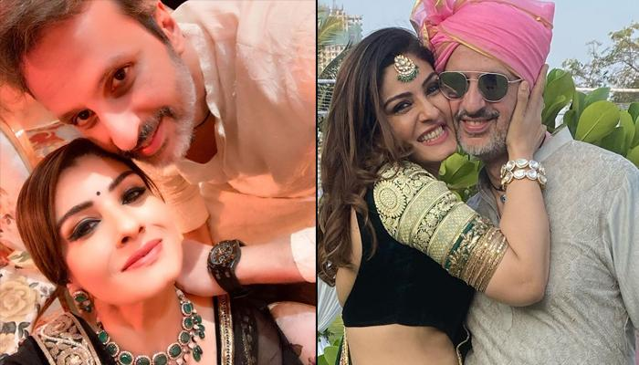 Raveena Tandon's 'Me And Mine' Photos With Hubby Anil Thadani Depict What 'Prem Kahanis Are Made Of'