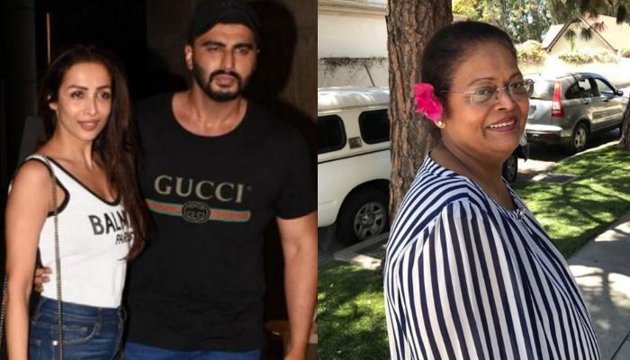 Arjun Kapoor Accompanies Malaika Arora And Her Son, Arhaan Khan For Joyce Arora's Birthday Bash