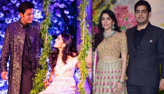 Akash Ambani And Shloka Mehta's Traditional Ensembles Redefine Style Goals And We Can't Get Over It!