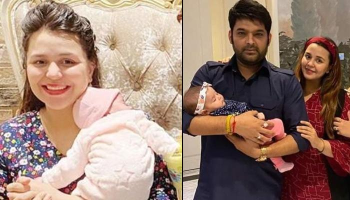 Kapil Sharma's Wife Ginni Chatrath Flaunts Post-Pregnancy Look At 'Baaghi 3' Premier, Looks Gorgeous