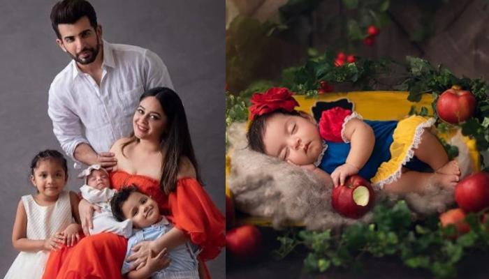 Jay Bhanushali And Mahhi Vij's Baby Girl, Tara Looks Like An Angel While Sleeping In This Picture