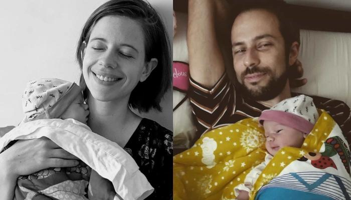Kalki Koechlin's Beau, Guy Hershberg Keeps An Eye On The Sleeping Mama Bear And Baby Bear