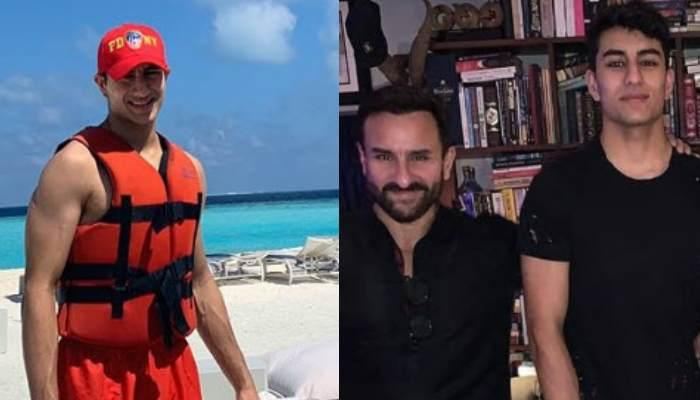 Ibrahim Ali Khan's Striking Resemblance With His 'Old Man', Saif Ali Khan Gives Father-Son Goals