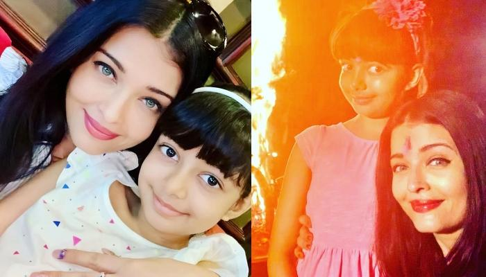 Aishwarya Rai Bachchan Wishes 'Happy Holi', Shares A Picture With Aaradhya From Their Celebrations