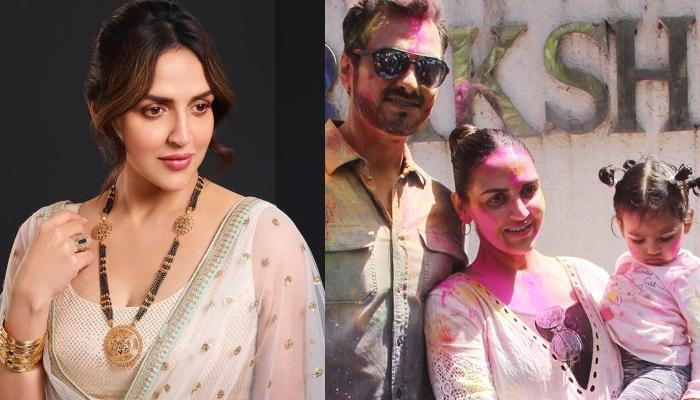 Esha Deol Takhtani Plays Holi With Daughter, Radhya Takhtani, Shares A Picture From The Celebration