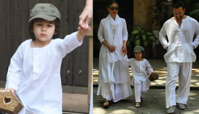 Taimur Ali Khan Is All Set To Play Holi With Mommy, Kareena And Daddy, Saif, The Trio Twins In White
