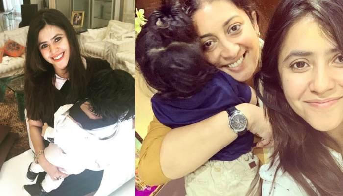 Ekta Kapoor's Lovely Note For Her 'Soul Sister' Smriti Irani, Speaks Volumes About Their Friendship