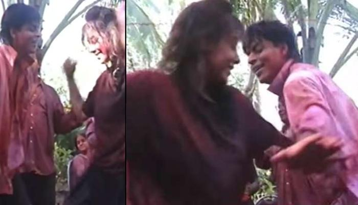 Shah Rukh Khan And Gauri Khan Dancing To Beats Of Dhol In Throwback Video Is Giving Major Holi Vibes